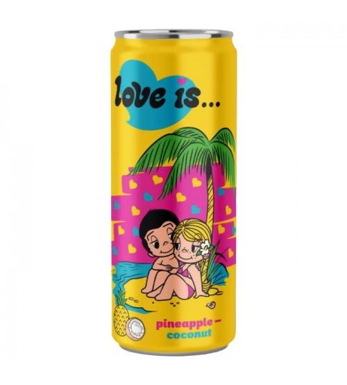Love is (Лов Из) Ананас и Кокос 0,33х12