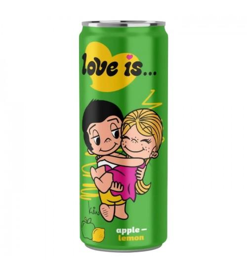 Love is (Лов Из) Яблоко и Лимон 0,33х12