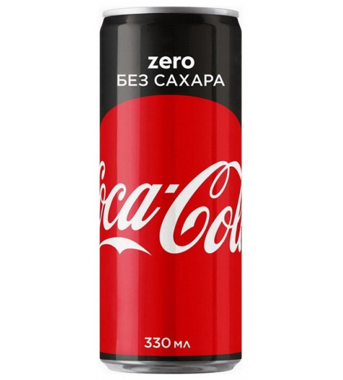 Кока-Кола 0,33х24 ЗЕРО Ж/Б
