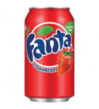 Fanta Strawberry (Фанта Клубника) 0,355х12