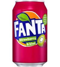 Fanta Strawberry and Kiwi (Фанта Клубника/Киви) 0,355х12