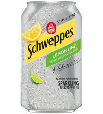 Schweppes Lemon and Lime (Лимон и Лайм) 0,355х8
