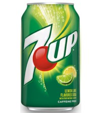 7UP Lemon Lime (Лимон Лайм) 0,355х12