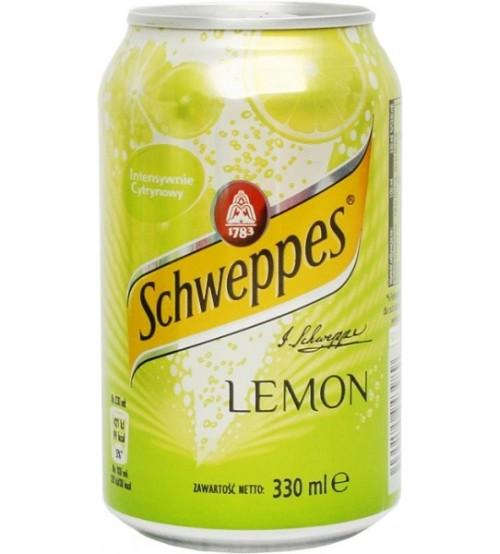 Schweppes Lemon (Лимон)  0,33х12