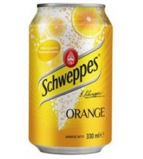 Schweppes Orange (Оранж)  0,33х12
