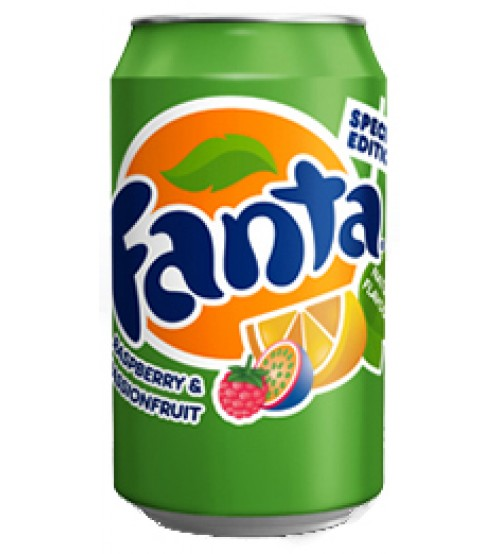 Fanta Rasberry & PassionFruit (Фанта Малина и Маракуйя) 0,355х12