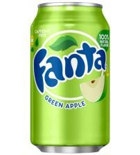 Fanta Green Apple (Фанта Зелёное Яблоко) 0,355х12