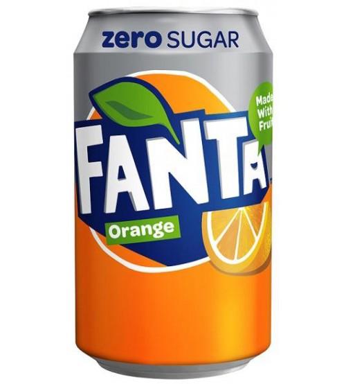 Fanta Orange ZERO (Фанта Оранж ЗЕРО) 0,330х12