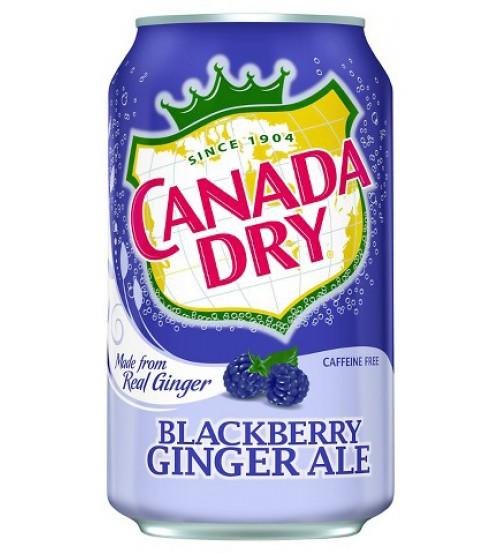 Canada Dry BlackBerry (Ежевика) 0,355х12