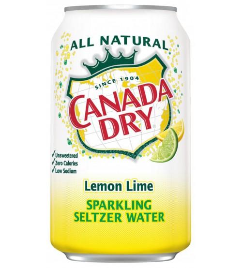 Canada Dry Lemon Lime (Лимон Лайм) 0,355х8
