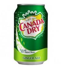 Canada Dry Ginger Ale (Имбирный Эль) 0,355х12