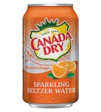 Canada Dry Mandarin Orange (Мандарин) 0,355х8