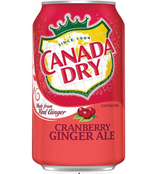 Canada Dry Cranberry (Клюква) 0,355х12