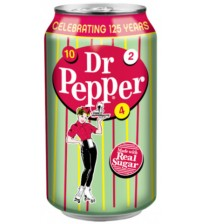 Dr. Pepper Real Sugar (Доктор Пеппер САХАР) 0,355х12