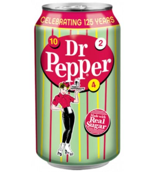 Dr. Pepper Real Sugar (Доктор Пеппер САХАР) 0,355х12