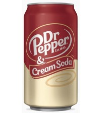 Dr. Pepper Cream Soda (Доктор Пеппер Крем Сода) 0,355х12