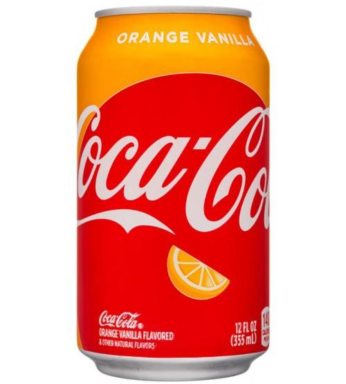 Coca-Cola Orange Vanila (Кока-Кола Апельсин-Ванила) 0,330х12