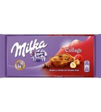 Milka Collage Fruit (Милка ягоды,орех,шок) 15х100гр