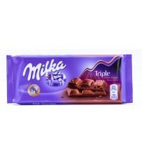 Milka Triple Cacao 18х100гр