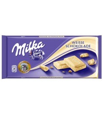 Milka White Chocolate 22х100г