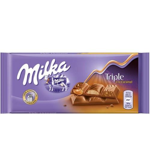 Milka Triple Caramel 18х100гр