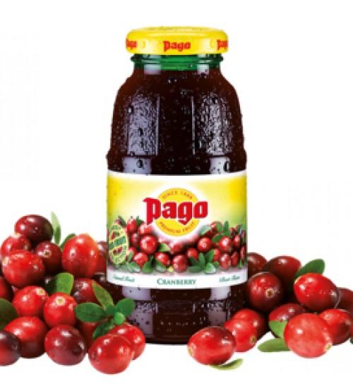 Паго ( Pago) 0,2х24 стекло Клюква