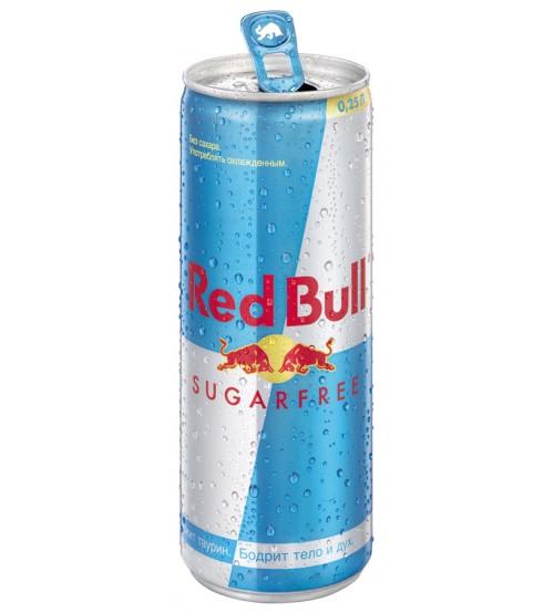 Ред Булл ( Red Bull ) 0.25х24 Без Сахара Ж/Б