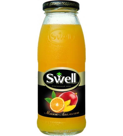 Свелл ( Swell ) 0,25х8 стекло Манго-Апельсин